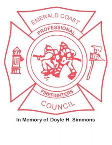 Emerald Coast Professional Firefighters Council Logo