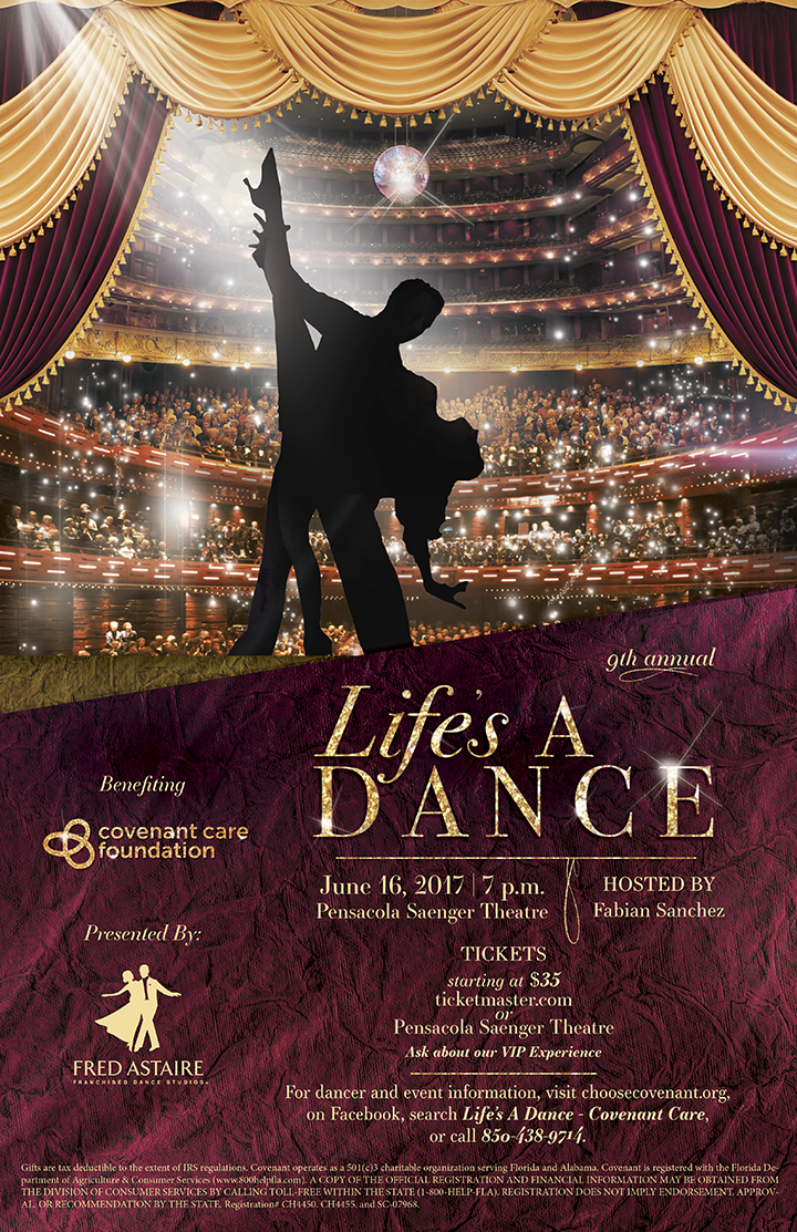 Lifes a dance flyer 11 17