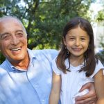 grandpa with girl
