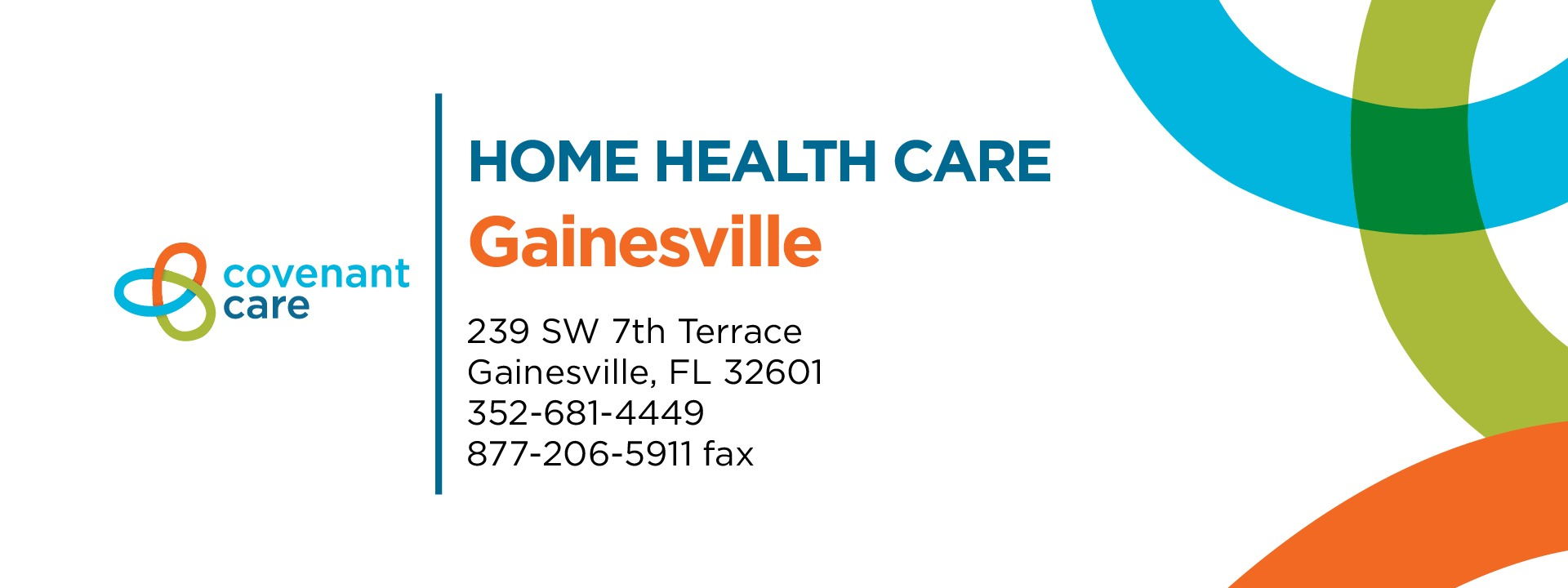 Covenant Care Home Health Care Gainesville address and phone number