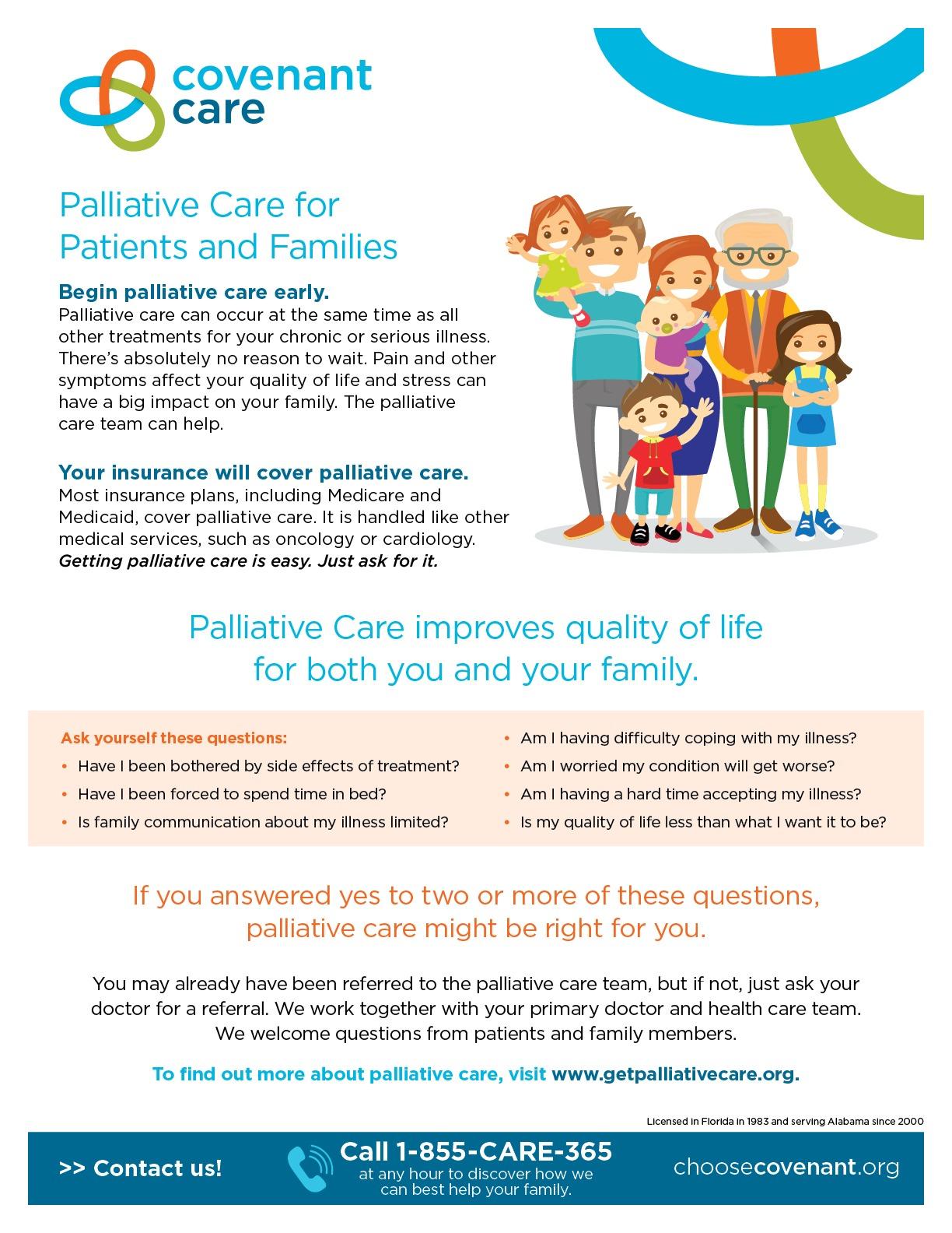 Palliative Care Infographic Flyer