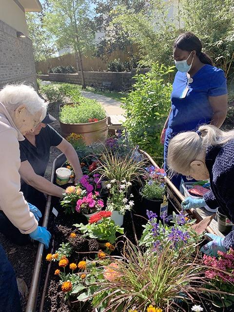 Residence gardening