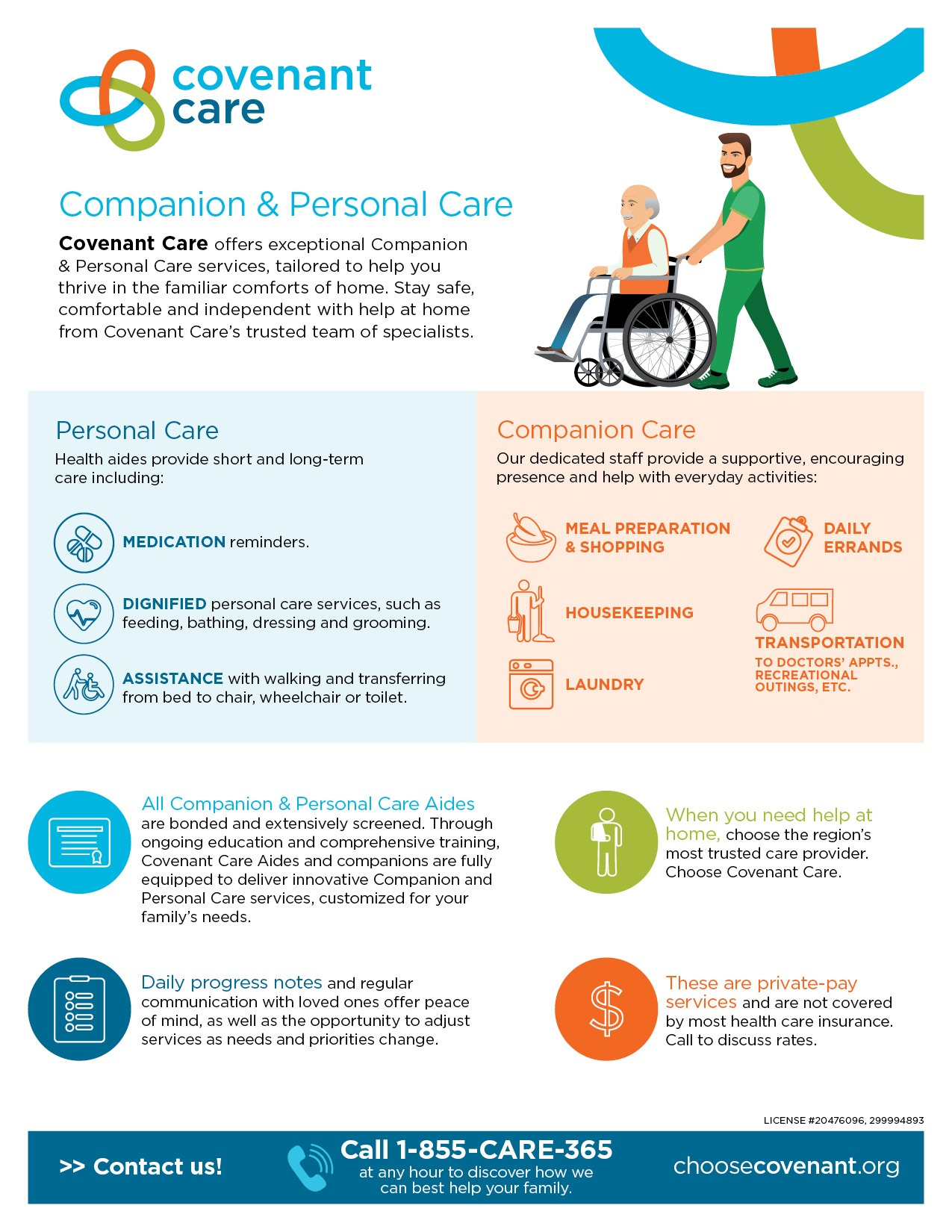 Companion and Personal Care Infographic