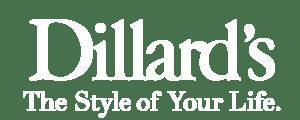 Dillards Logo White